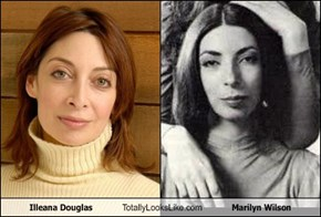 Illeana Douglas Totally Looks Like Marilyn Wilson