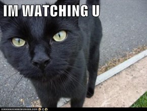 IM WATCHING U