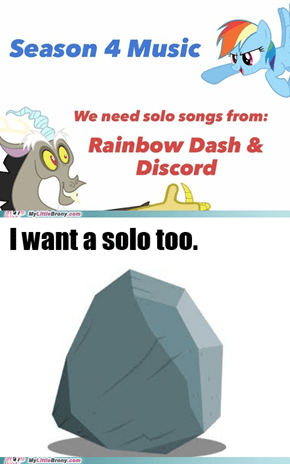 Tom wants a solo too!