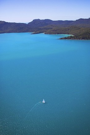 Sailing at Whitsundays, Australia