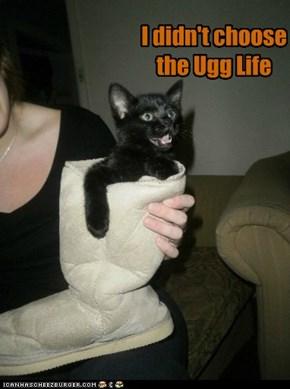 I didn't choose the Ugg Life