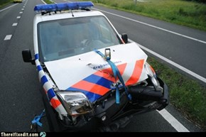 Dutch cop car fixed