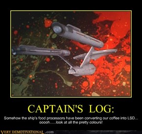 CAPTAIN'S  LOG: