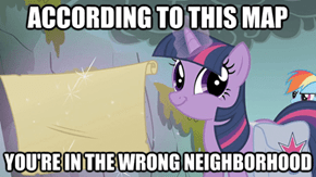 My apologies, Twilight.