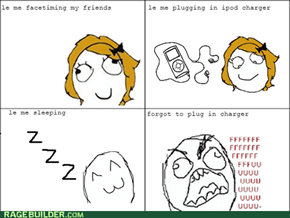 Ipod charger Rage