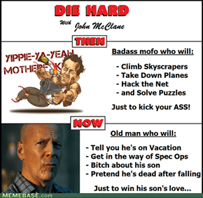 WTF happened to you John McClane?