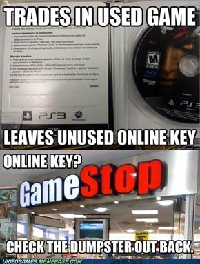 Scumbag GameStop