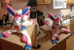 This Sylveon Plush is So Cute