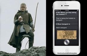 Siri knows all...