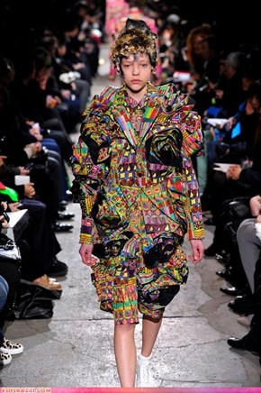 If Style Could Kill: Like getting run over by a cart filled with brightly colored Mexican blankets.