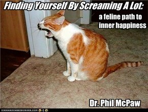 Finding Yourself By Screaming A Lot: