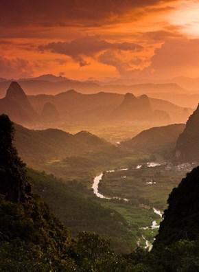 Moon Mountain, China
