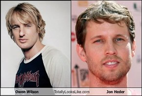 Owen Wilson Totally Looks Like Jon Heder