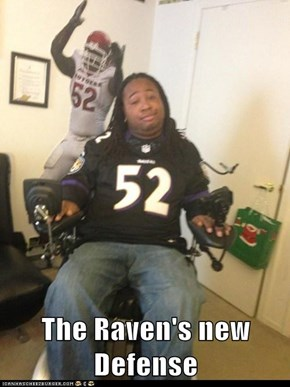 The Raven's new Defense
