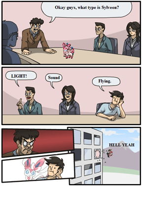 Boardroom Suggestion: Sylveon's Type