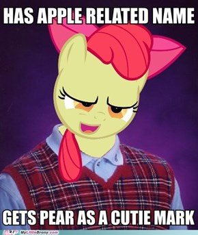 Bad Luck Apple Bloom