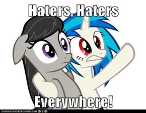Haters, Haters  Everywhere!