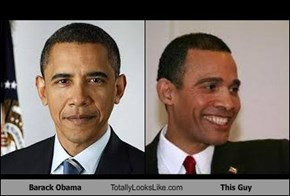 Barack Obama Totally Looks Like This Guy