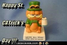 Happy St.  CATrick's Day !!!