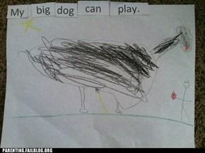 My Big Dog Can Pee