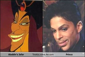 Aladdin's Jafar Totally Looks Like Prince