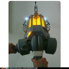 Half Life 2 Gravity Gun 1:1 Scale replica!
