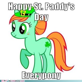 Shamrock wishes you a Happy Paddy's Day