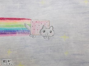 Nyan Cat WIN!