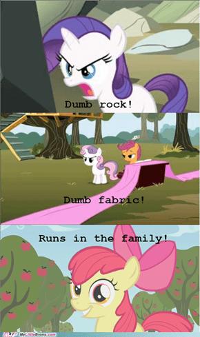 Runs in the family!
