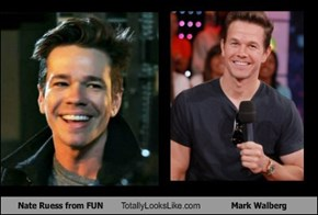 Nate Ruess from FUN Totally Looks Like Mark Walberg