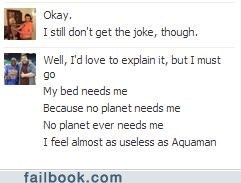 We Need Aquaman Said No One Ever
