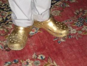 Liberace's Crocs