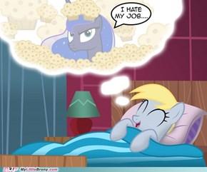 sometimes luna doesn't like dreams