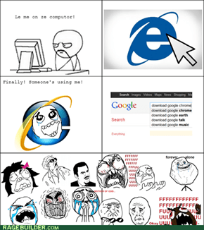 This is the only Reason I'll use IE