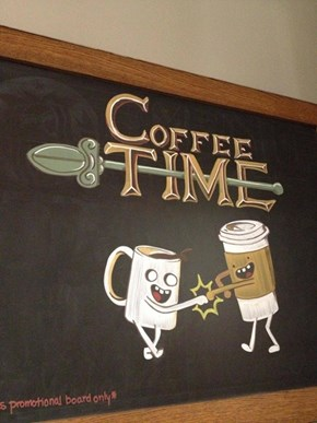 Coffee Sign WIN