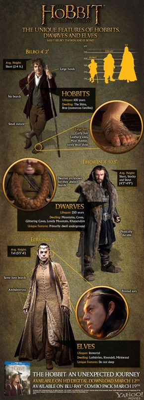 The Races of The Hobbit
