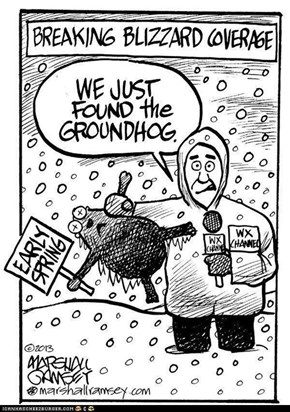 Groundhog Located. That's the Good News