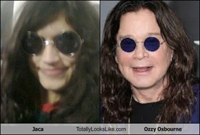 Jaca Totally Looks Like Ozzy Osbourne