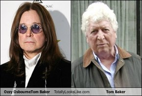 Ozzy OsbourneTom Baker Totally Looks Like Tom Baker