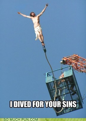 Bungie Jumping Jesus