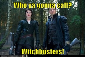 Who ya gonna call?  Witchbusters!