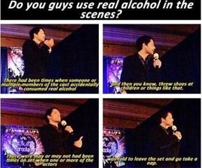 Go Home Castiel, U R Drunk