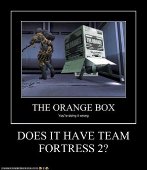 DOES IT HAVE TEAM FORTRESS 2?