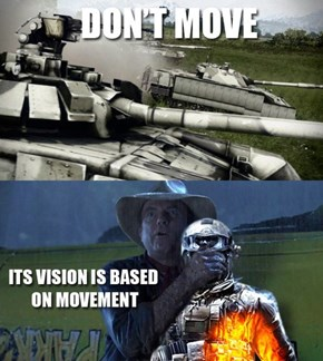 Whenever Armor Rolls Up in Battlefield 3