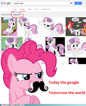 Pinkie Pie is taking over everything