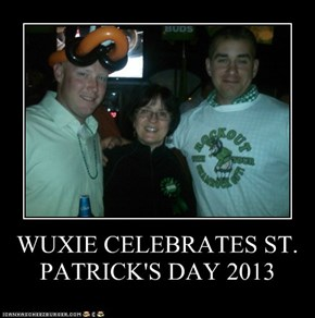 WUXIE CELEBRATES ST. PATRICK'S DAY 2013