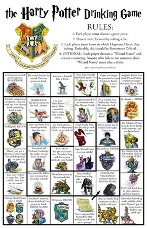 The Harry Potter Drinking Game