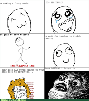 Short term memory rage