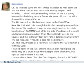 Yes Virginia, there is a Batman