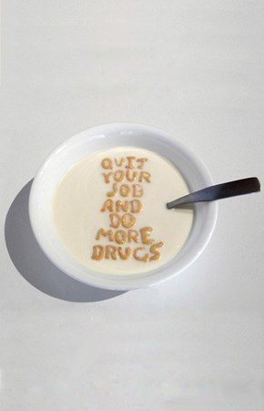 THE CEREAL HAS SPOKEN